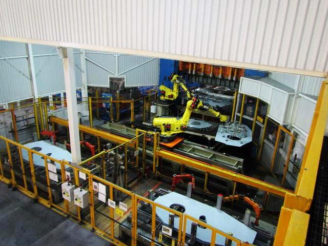Estampado Linea Robotica